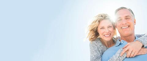 Restore your smile with permanent dental implants.